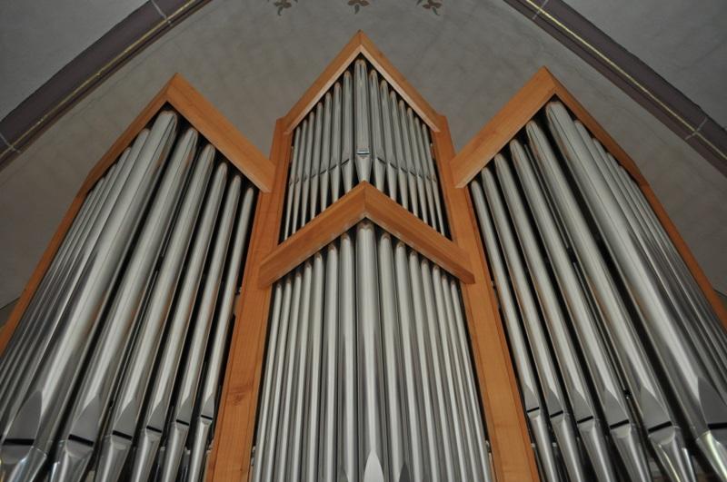 Die neue Orgel.