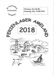Ameland Deckblatt 2018