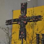 Hermann Kunkler aus Raesfeld hat das Kreuz gestaltet.