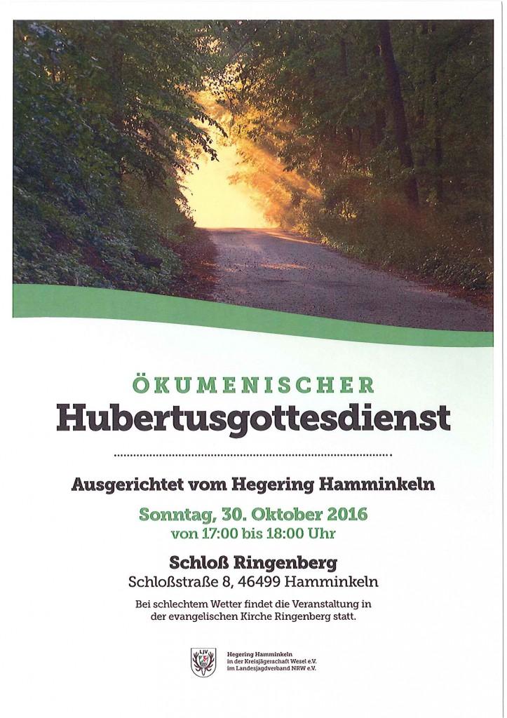 Hubertusgottesdienst