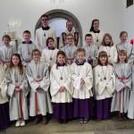 Gruppenbild nach der Messe