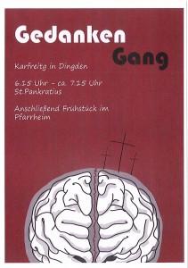 Gedanken-Gang