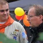 Der ehemalige Pastoralreferent Gregor Coerdt kam zum Pfadfinderjubiläum