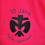 T-Shirt in Nahaufnahme
