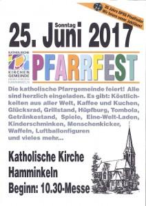 Pfarrfest 2017