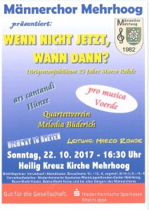 Konzert Männergesangsverein MH
