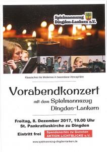 Konzert 8. Dezember 2017