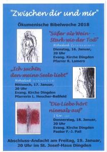 Bibelwoche 2018