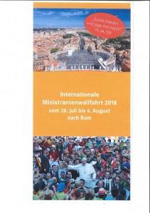 Ministrantenwallfahrt 2018